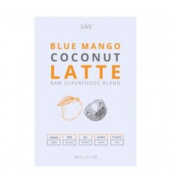 Смесь Суперфуд Ponko Blue mango coconut latte 60г