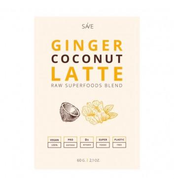 Смесь Суперфуд Ponko Ginger coconut latte 60г