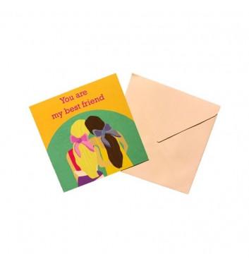 Міні листівка EgiEgi Cards You are my best friend