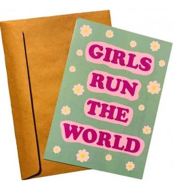 Листівка EgiEgi Cards Girls run the world