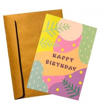 Листівка EgiEgi Cards Happy Birthday (Color)