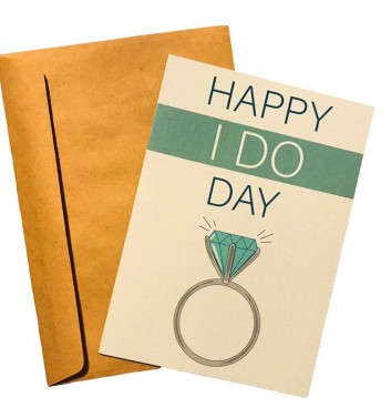 Открытка EgiEgi Cards Happy I Do Day