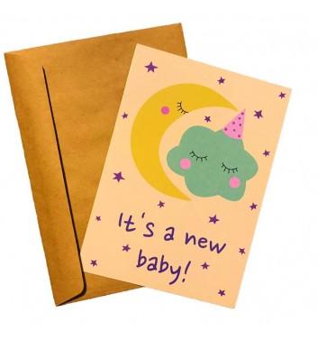 Листівка EgiEgi Cards It's a new baby