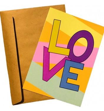 Листівка EgiEgi Cards LOVE