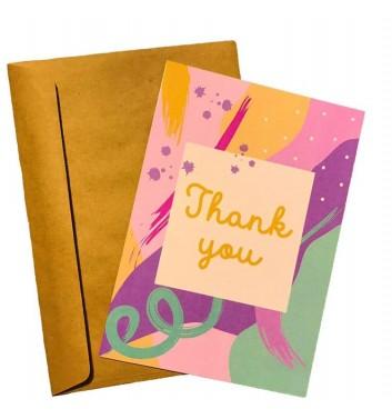 Листівка EgiEgi Cards Thank you