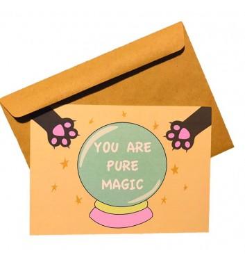 Листівка EgiEgi Cards You are pure magic