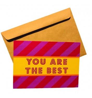 Листівка EgiEgi Cards You are the best