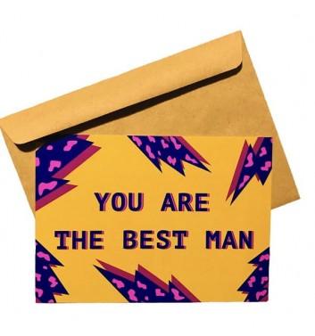 Листівка EgiEgi Cards You are the best man