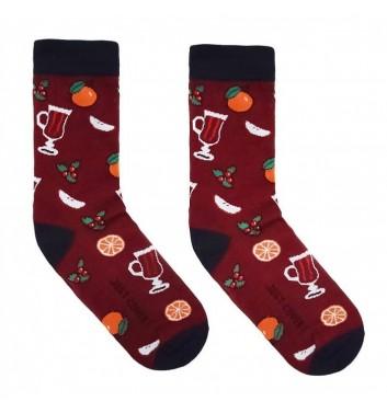Шкарпетки Just cover Глінтвейн