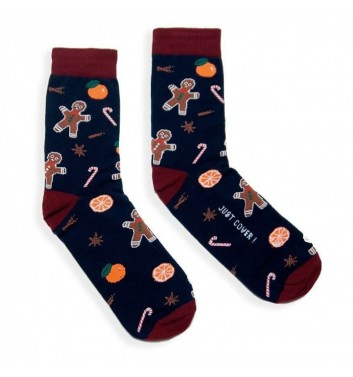 Шкарпетки Just cover Імбирний чоловічок