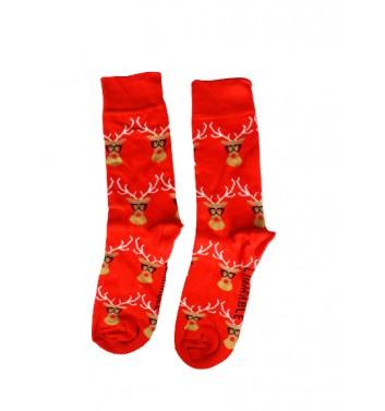 Шкарпетки No name Christmas Deer Glasses (M-L)
