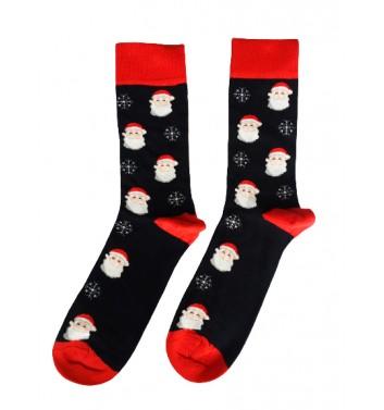 Шкарпетки No name Santa Claus Head Snowflake (M-L)
