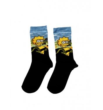 Шкарпетки Crazy Lama`s Simpson Lisa (36-44)