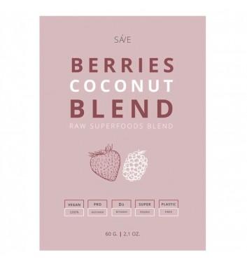 Суміш суперфудів Ponko Berries coconut blend 60г