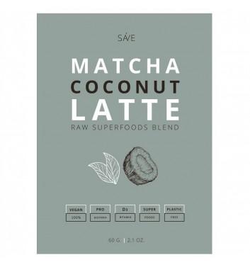 Смесь Суперфуд Ponko Matcha coconut latte 60г