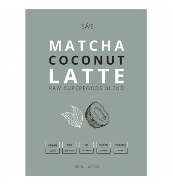 Суміш суперфудів Ponko Matcha coconut latte 60г