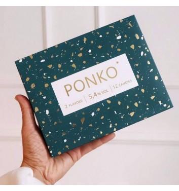 Алкогольные конфеты Ponko sweets Ассорти Christmas collection 12 конфет
