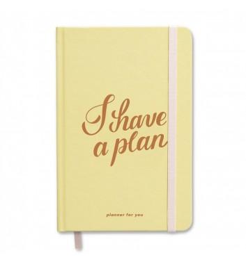 Міні-планер Orner Store I have a plan Yellow