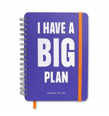 "Большой планер Orner Store ""I have a BIG plan"" violet"