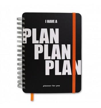 "Великий планер Orner Store ""Plan Plan Plan"" black"