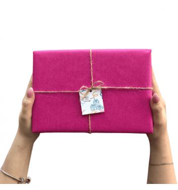 Упаковка в бумагу Pink