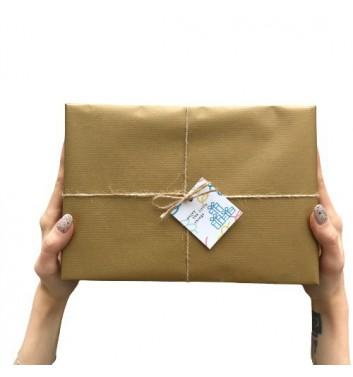 Упаковка в бумагу Craft