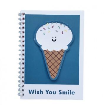 Блокнот Cuters Ice Cream Wish you Smile