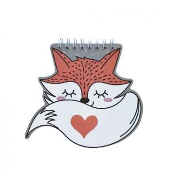 Блокнот Cuters Fox
