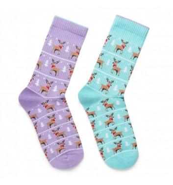 Шкарпетки Ded noskar Олені