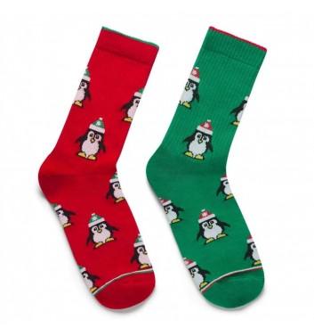 Шкарпетки Ded noskar Пінгвіни