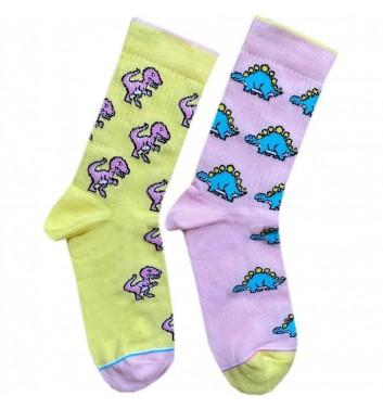 Шкарпетки Ded noskar Динозаври Кохайся