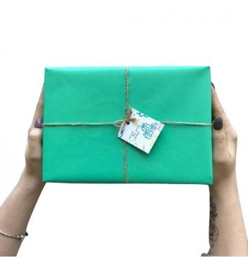 Упаковка в бумагу Tiffany