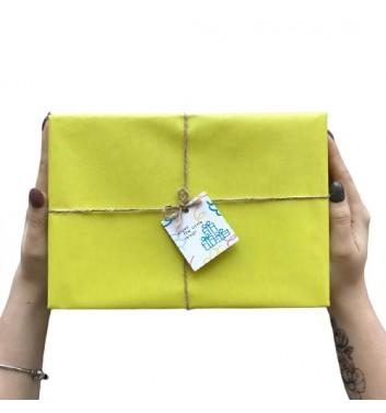 Упаковка в бумагу Lemon Yellow