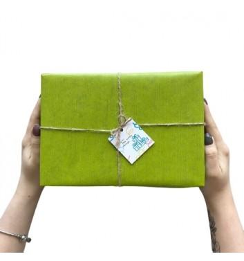 Упаковка в бумагу Green Olive