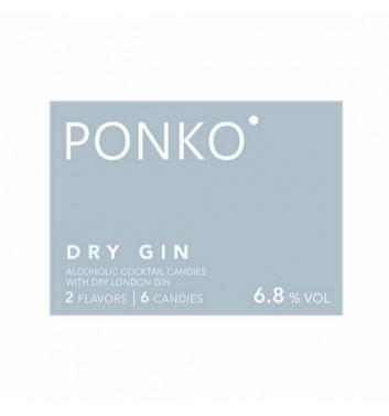 Алкогольные конфеты Ponko sweets Gin 6 конфет