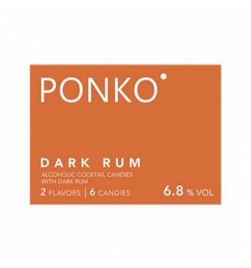 Алкогольные конфеты Ponko sweets Rum 6 конфет