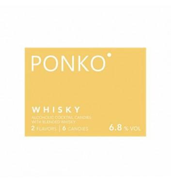 Алкогольные конфеты Ponko sweets Whisky 6 конфет
