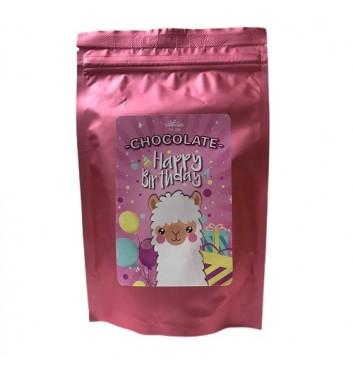 "Гарячий шоколад Candy's ""Happy b-day"" Lama"