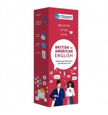 Картки з англійської мови Eng student Британська та американська (500)