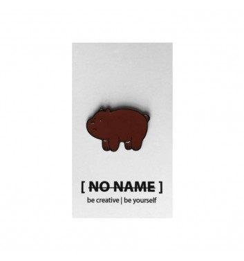 Значок No name Bare Bears Grizzly 2