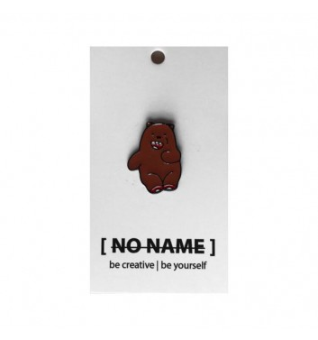 Значок No name Bare Bears Grizzly 3