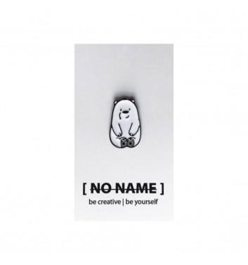Значок No name Bare Bears White 3
