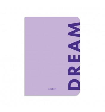 Блокнот у клiтинку Orner Store Dream фіолетовий