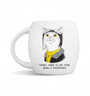 Чашка Orner Store Amelia Earhart