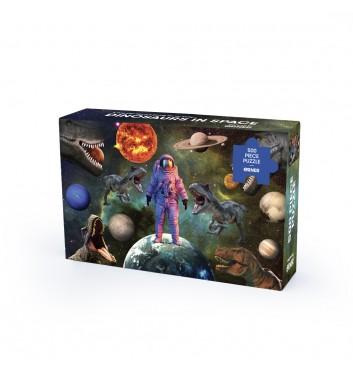 Пазл Orner Store «Динозаври у космосi» 500 елементiв