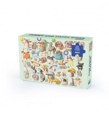 Пазл Orner Store «Веселi та щасливi собаки» 500 елементiв