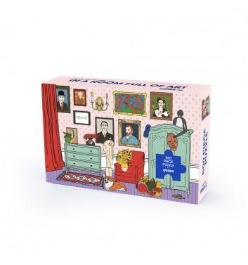 Пазл Orner Store x Грехов «Кімната художників» 500 елементiв