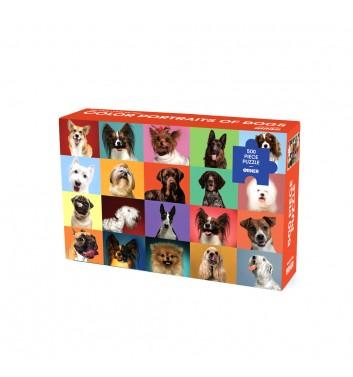Пазл Orner Store «Кольоровi портрети собак» 500 елементiв