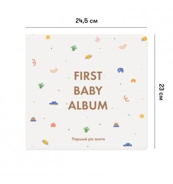 Фотоальбом Orner Store First Baby Album Бежевый