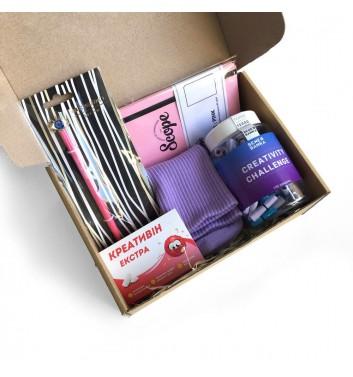 Подарунковий бокс «Creativity box»